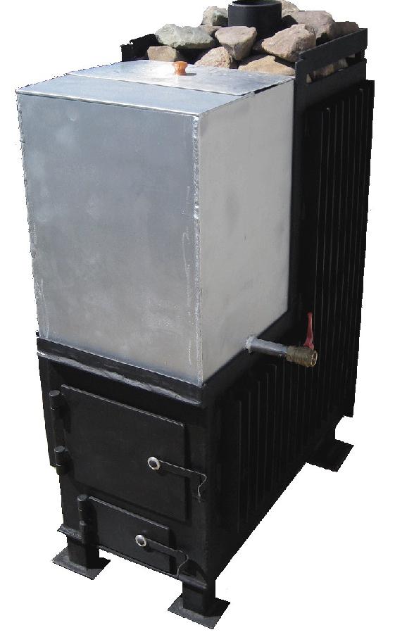 Печь для бани с баком для воды: устройство и особенности конструкции || Печь для бани с выносным баком