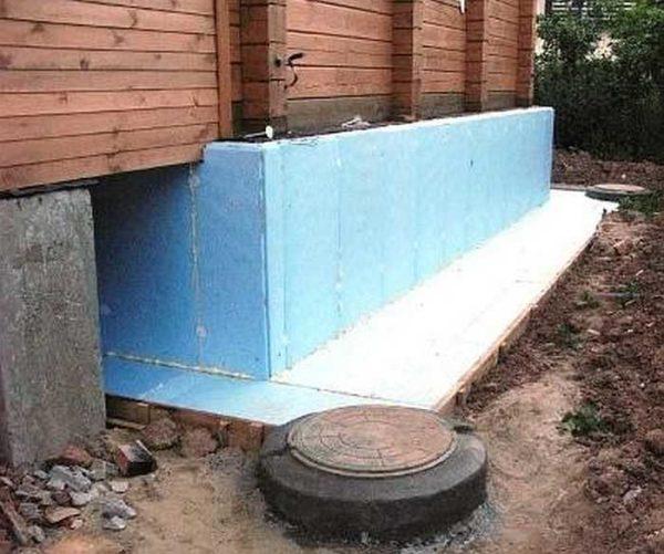 Вентиляция фундамента бани
