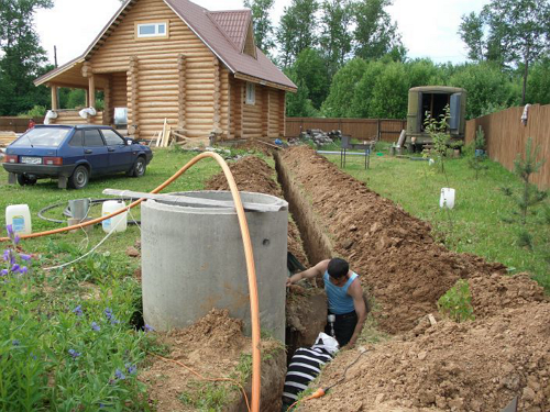 Водоснабжение бани