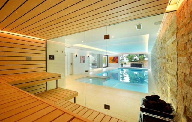 Банный комплекс с бассейном: проекты, строительство