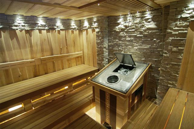 Террасная доска для бани