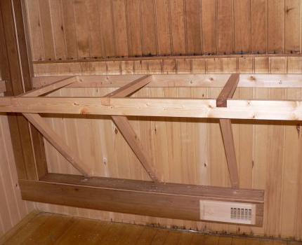 Вентиляция в бане: схема и устройство