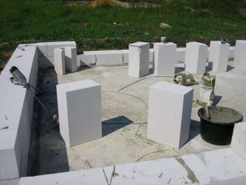 Баня из газоблока