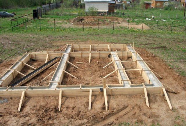 Как построить баню без фундамента своими руками