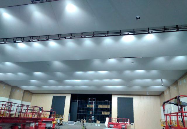 Акустические потолочные панели