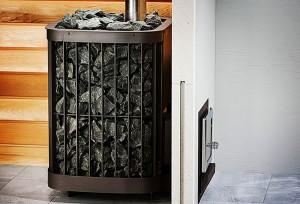 Чугунная печь для бани Везувий
