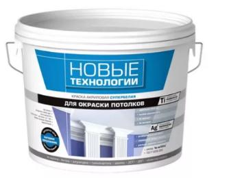 Как покрасить потолок без разводов акриловой краской