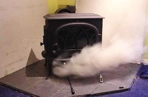 Как прочистить дымоход в бане