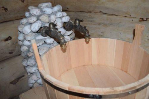 Кран для бани