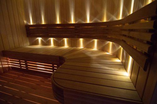 Оптоволоконные светильники для бани
