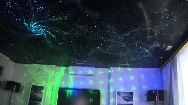 Звездное небо – потолок своими руками