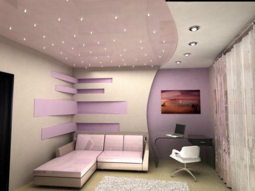 Натяжной потолок - вреден ли для здоровья