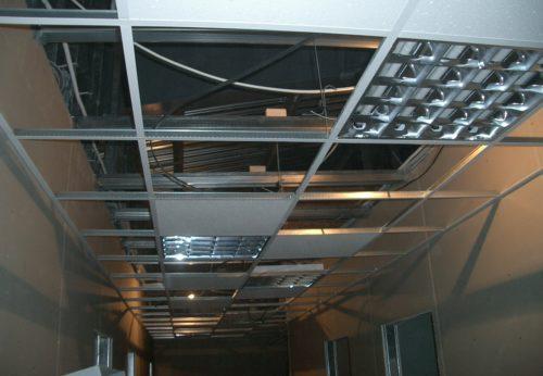 Виды подвесных потолков: фото