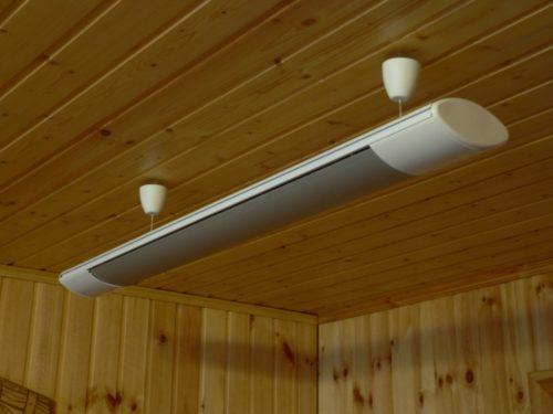 Инфракрасный потолочный обогреватель с терморегулятором