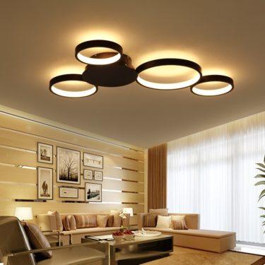 Виды светодиодных лент и потолочных светильников
