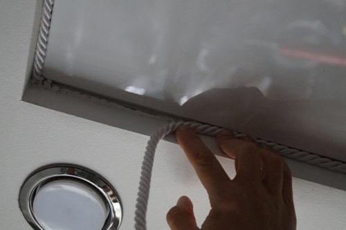 Чем заменить потолочный плинтус