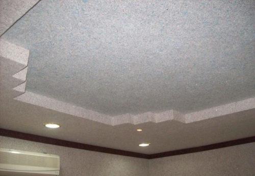 Жидкие обои на потолок: фото и отзывы