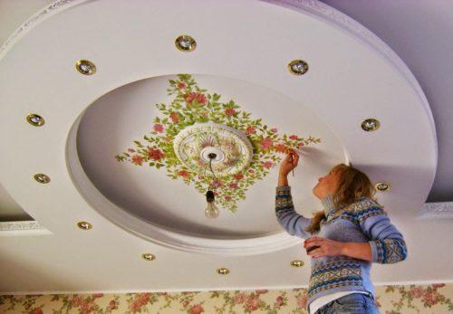 Красивые потолки: современные идеи оформления