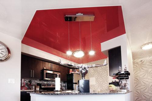Дизайн натяжных потолков: фотогалерея