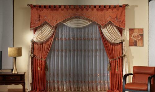 Как повесить шторы с ламбрекеном