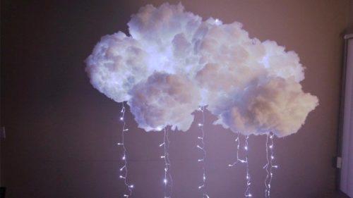 Светильник в виде облака