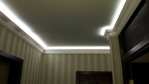 Плинтус с подсветкой