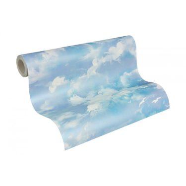 Потолок Небо с облаками