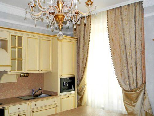 Карниз на кухню: фото