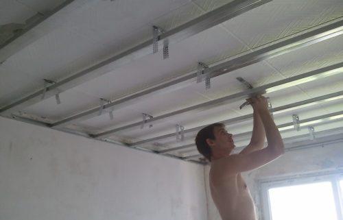 Подвесной потолок Кнауф