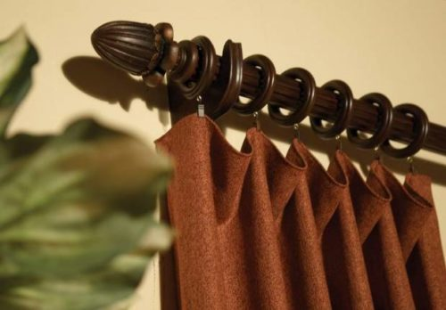 Металлические и пластмассовые кольца для штор