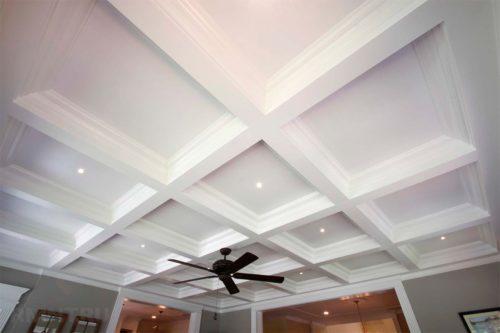Потолок в частном доме