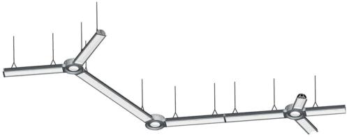 Монтаж светильников в подвесной потолок: схема, размеры, высота