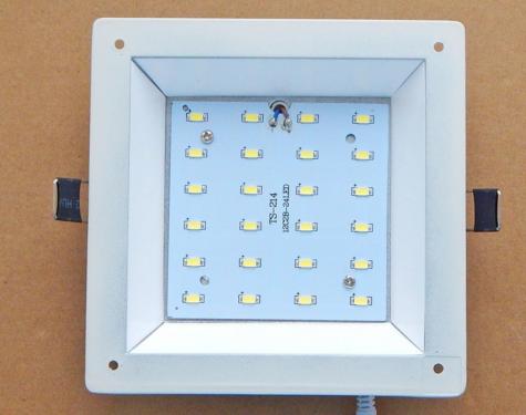 Установка светодиодных светильников