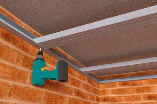 Каркас для гипсокартона на потолок