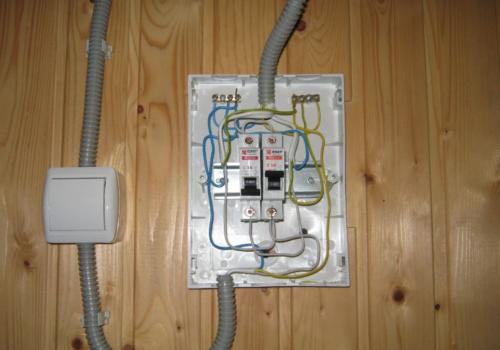 Электропроводка в бане своими руками: пошаговая инструкция