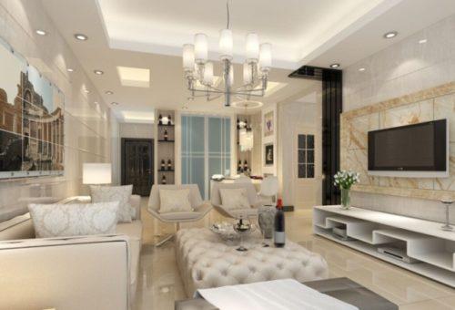 Потолочные люстры для гостиной
