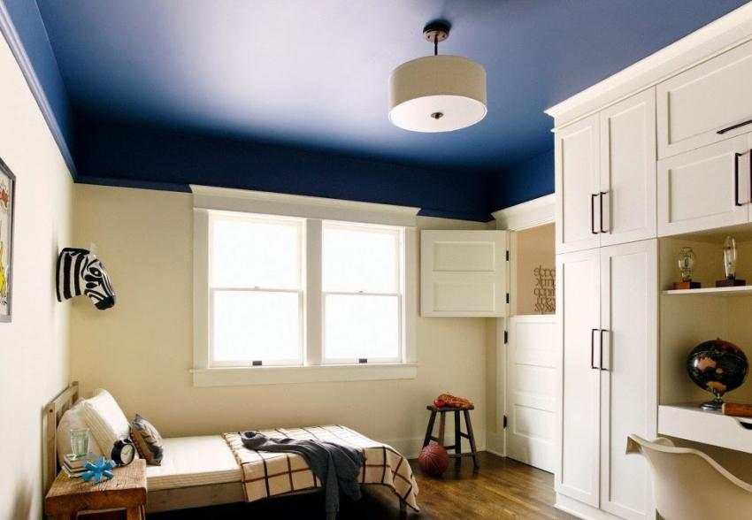 Краска для потолка в квартире какая лучше