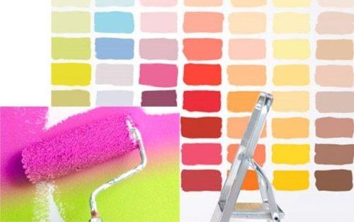 Силиконовая и латексная краска для потолка