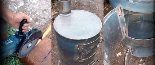 Печь в баню из металла своими руками: чертежи, колосники, шибер