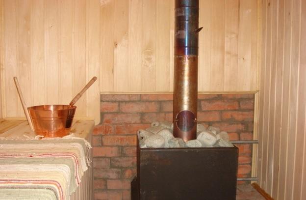 Печь для бани на дровах сделать