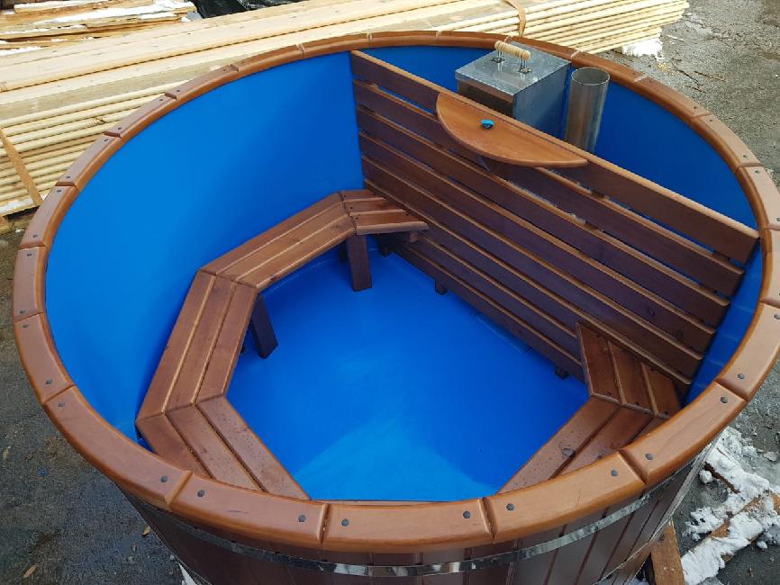 Купель для бани пластиковая  отличная альтернатива деревянной