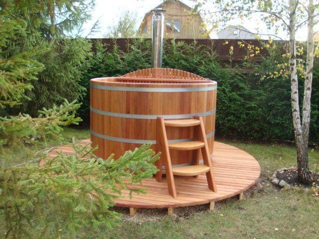 Купель для бани: установка своими руками, деревянной
