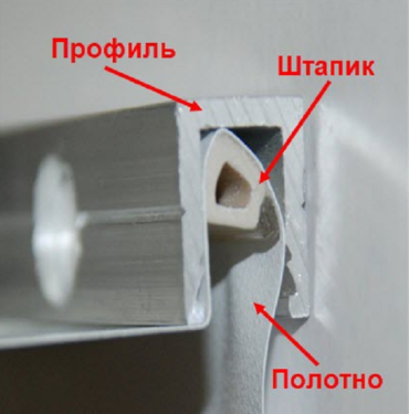 Как снять натяжной потолок с последующей установкой