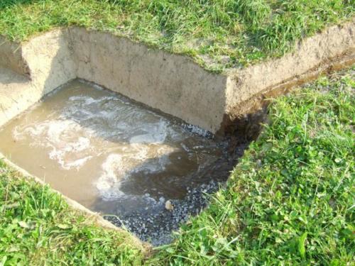Канализация в бане
