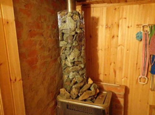 Сетка для камней на банную печь