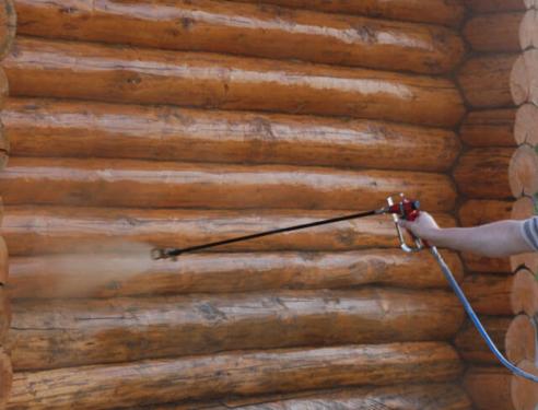 Чем обработать сруб бани снаружи