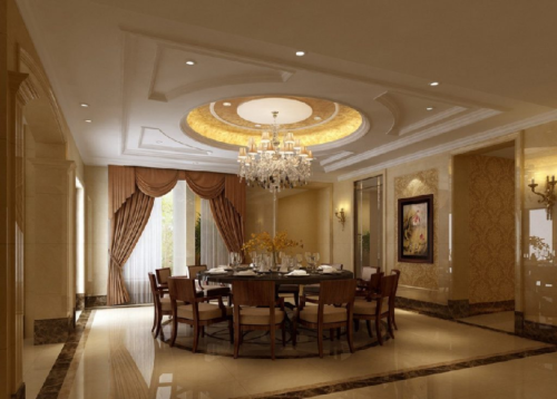 Красивые потолки из гипсокартона для зала: фотогалерея