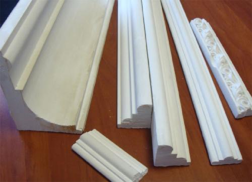 Карниз потолочный полиуретановый и пенопластовый