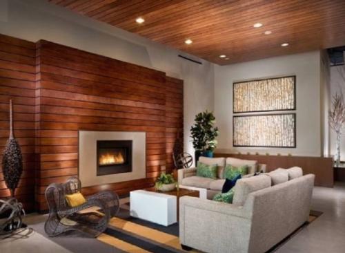 Деревянный потолок в квартире