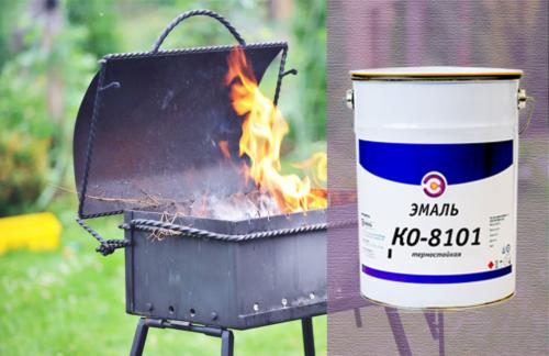 Чем покрасить металлическую печь в бане